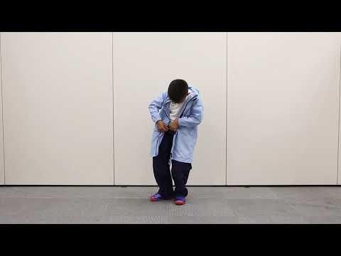 雨イージング・レインスーツ・チャイルド脱衣動画