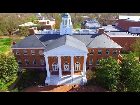 Awesome Drone Video of Washington College