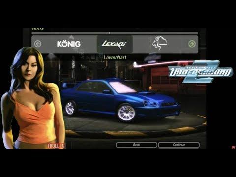 Need For Speed Underground 2 - Subaru Impreza WRX STI