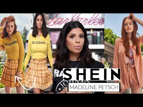 I BOUGHT SHEIN X MADELAINE PETSCH CLOTHING LINE....  hit or miss? thumbnail