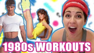 I Did Workouts Only From The 1980s For A Week