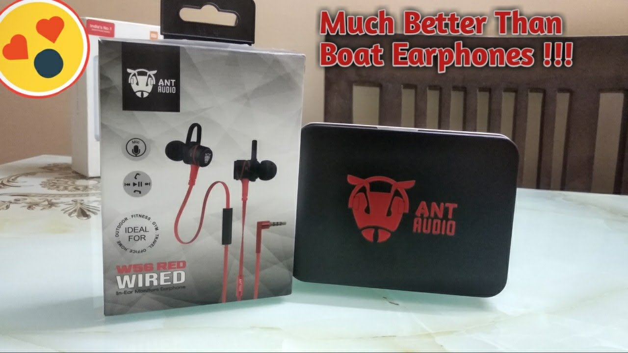 Ant audio W56 wired gaming earphone Unboxing and review| Best earphones under ₹500 for PUBG