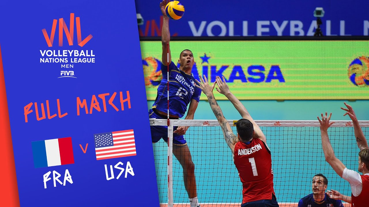 Download France v USA - Full Match - Semi Final | Men's VNL 2018