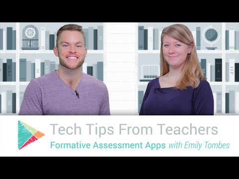 Tech Tips From Teachers: Formative Assessment Apps