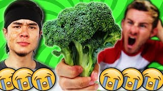 THE 500g RAW BROCCOLI CHALLENGE! (MATT STONIE RESPONSE)