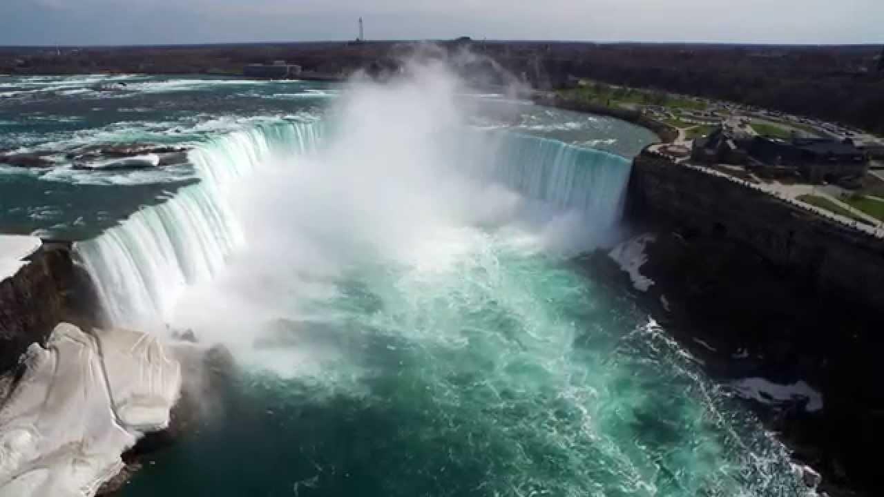 M And J Auto >> Niagara Falls aerial shot [DJI INSPIRE 1][4K] - YouTube