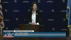Governor Kristi Noem's Weekly Press Conference