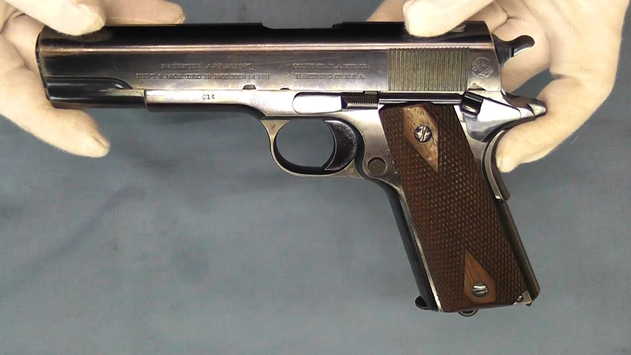Colt M45A1 CQBP Marine 1911 .45 ACP with Desert Tan Finish and ...
