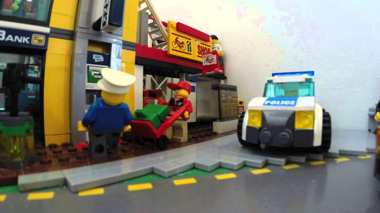 Lego city, cool pictures and ideas to build things in Lego - YouTube