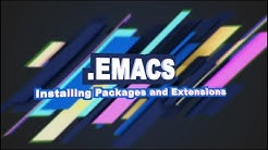 .Emacs #3 - Installing Packages and Extensions