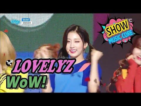 [HOT] LOVELYZ - WoW!, 러블리즈 - 와우! Show Music core 20170408