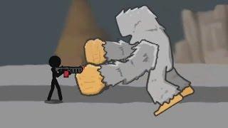 Слишком крутая игра ! Stickman and Gun часть 2