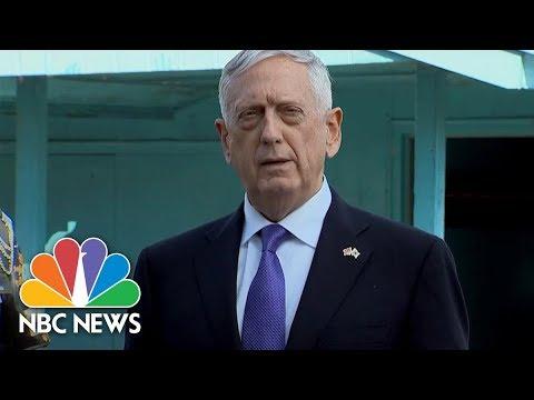 Download Youtube: Defense Secretary Jim Mattis On North Korea: 'Our Goal Is Not War' | NBC News