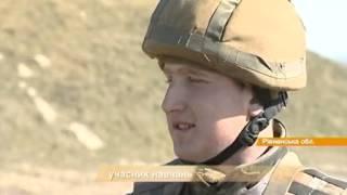 Украинских военных собрали на обучение: учат стрелять в условную цель