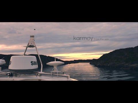Filming Norwegian seascape: Karmøy from the sea (4K)