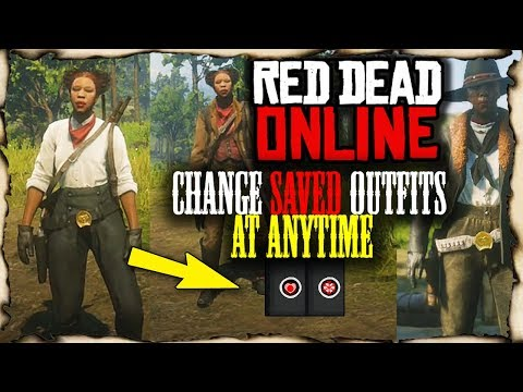 RDR ONLINE - Save And Change Outfits At Anytime!! (Red Dead Redemption 2)