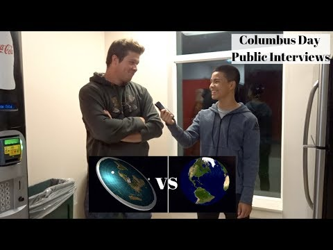 Is The Earth Flat Or Round? (Christopher Columbus Day Special) thumbnail