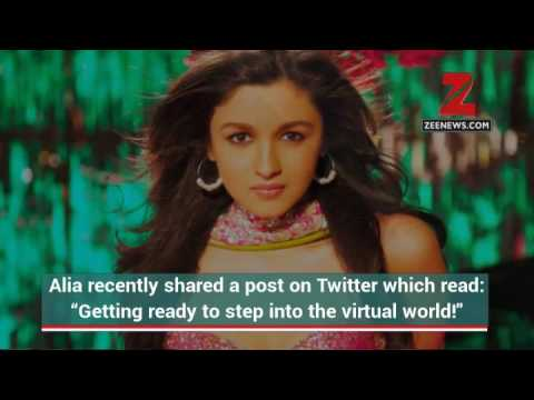 Alia Bhatt to enter virtual world soon!