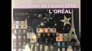 CALENDRIER DE L'AVENT ** L'ORÉAL 2018 ** MIEUX QUE LE MAYBELLINE !