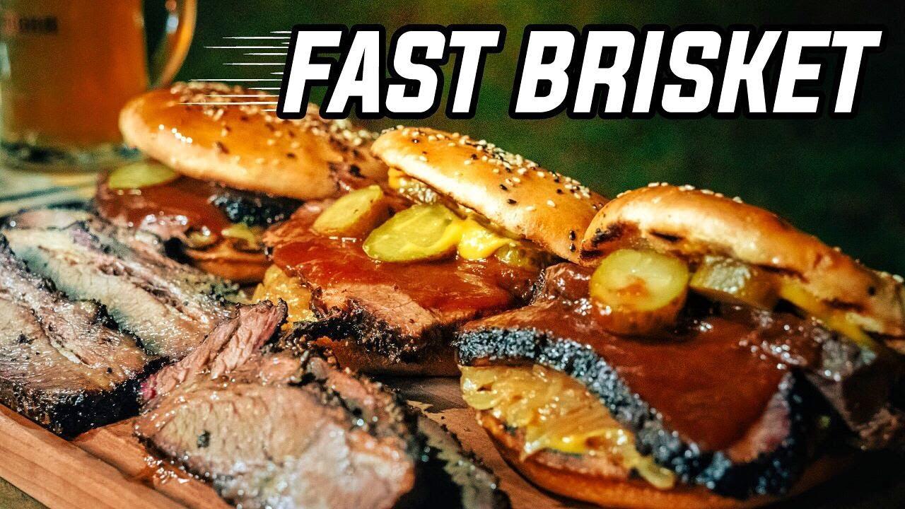 """Brisket Rápido """"Hot & Fast"""" Resultado increíble en la mitad del tiempo convencional."""