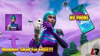 How To Get The *WONDER* Skin in Fortnite for *FREE*!!!