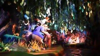 2015.11.09東京ディズニーランド夜のスプラッシュ・マウンテンを極超高...