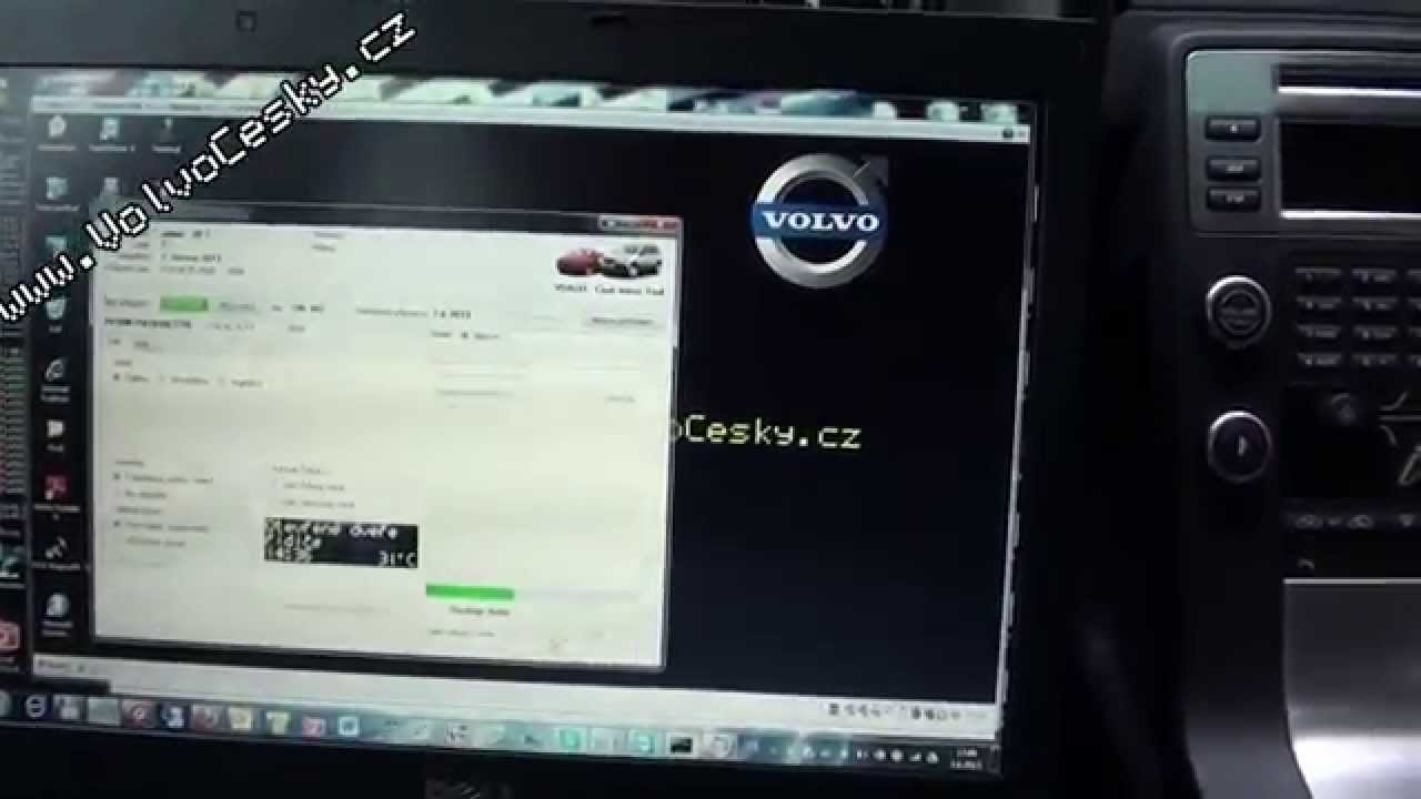 NEW Volvo V70 / XC70 2009 - ICM / DIM switching language (radio) - YouTube
