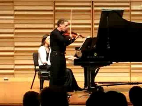 Charlie Castleman, Violin with Su Jung Jang, Piano