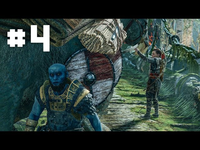 God of War 4 - EP 4 - Meeting One of the Dwarves that Forged Mjolnir