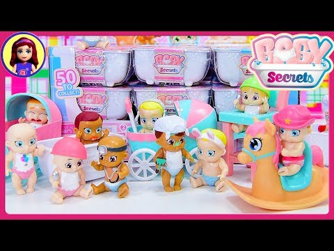 Baby Secrets Bathtubs Color Change Blind Bags Doll Opening