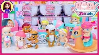 Baby Secrets Bathtubs Color Change Blind Bags Doll Opening Kids Surprise Toys