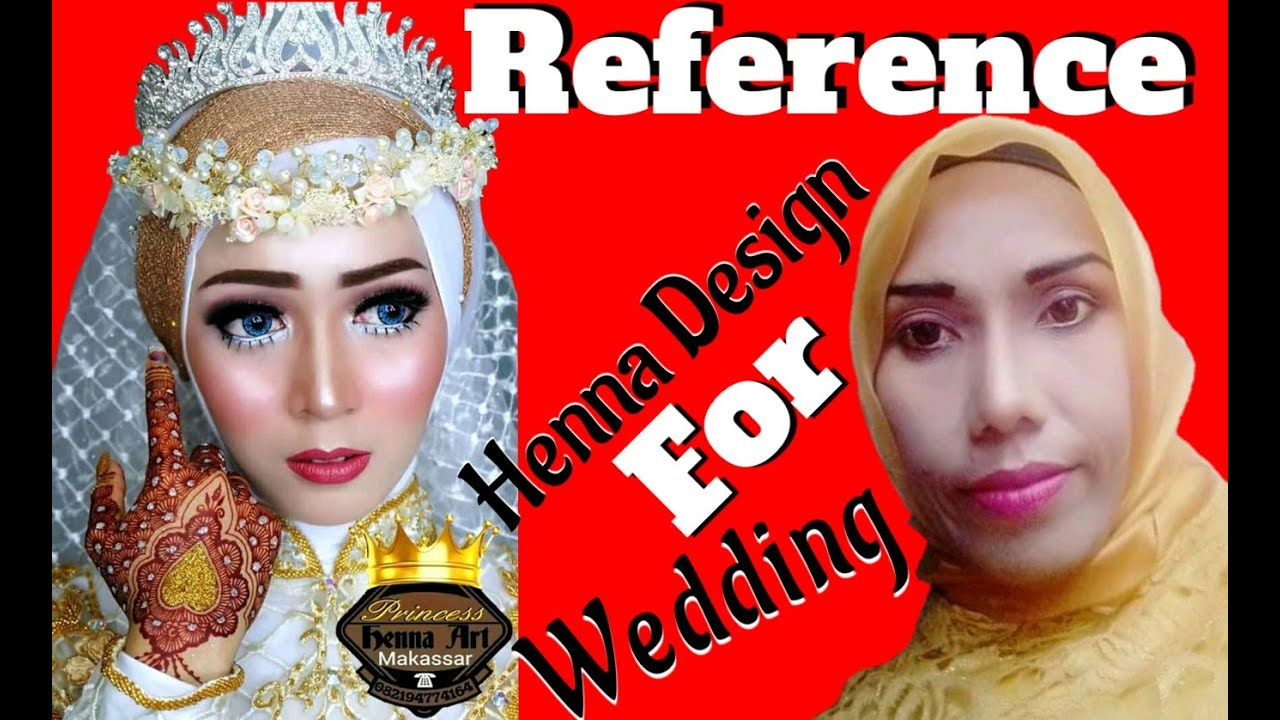 Henna Wedding | Reference Henna Design for Wedding