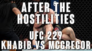 After The Hostilities: UFC 229 Khabib vs McGregor
