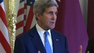 Kerry Lays Out Ceasefire Goals for Gaza