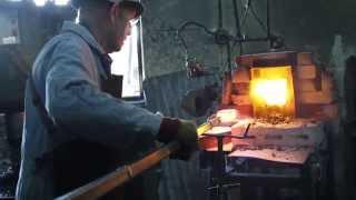 Making Damascus Steel