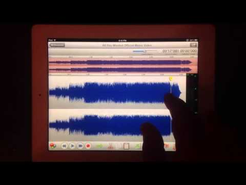 Twisted Wave Audio Editor For iPad