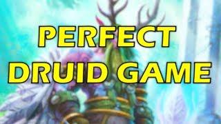 Hearthstone - When Druid Has a Perfect Game