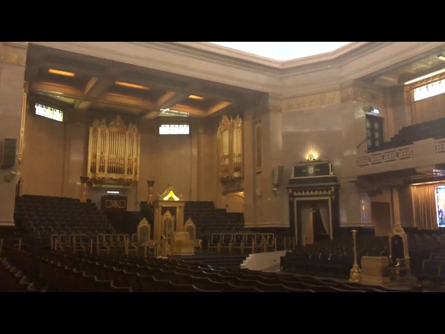 'It's Coming Home' played on the Grand Temple organ in Freemasons' Hall, London