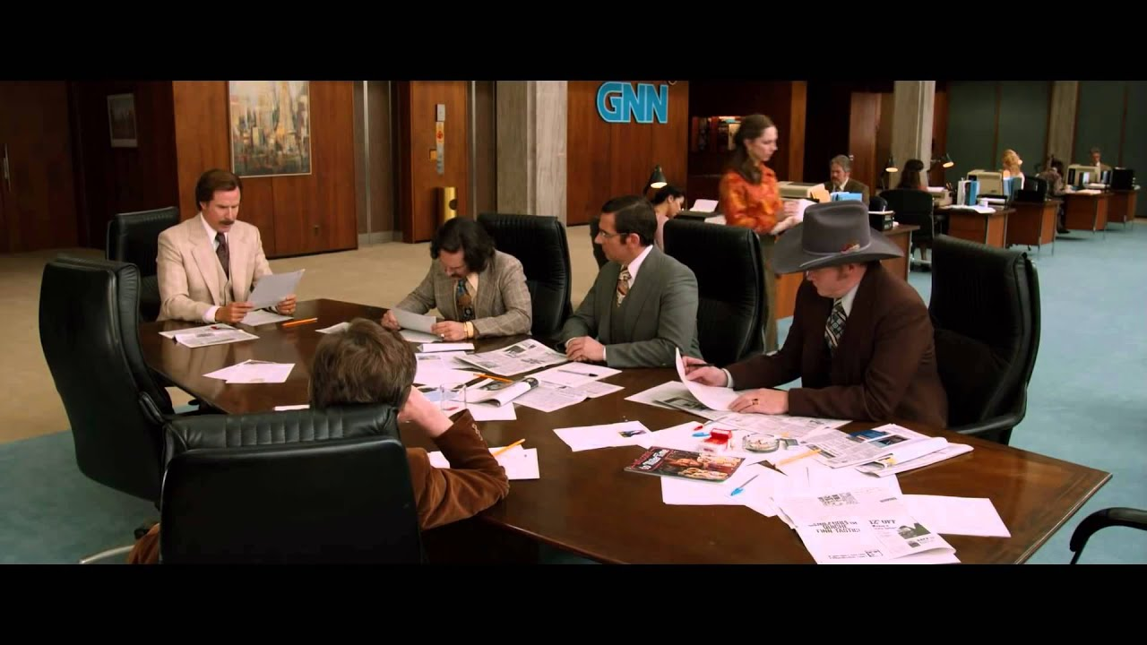 Download ANCHORMAN 2  THE LEGEND CONTINUES   Official Clip    News Ideas