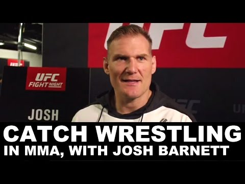 Josh Barnett on the under-appreciated art of catch wrestling in MMA | UFC Hamburg