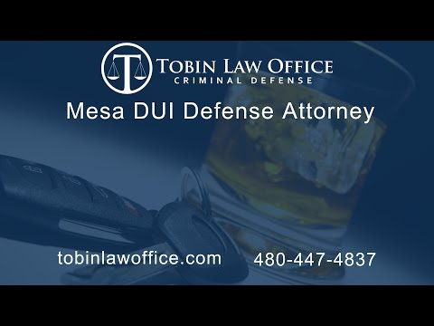 Mesa DUI Defense Attorney Tim Tobin