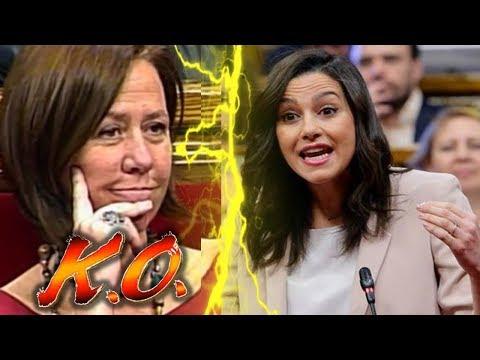 """Inés ARRIMADAS """"SE VENTILA"""" en 2 minutos a la ALCALDESA SEPARATISTA de GIRONA en el Parlament"""