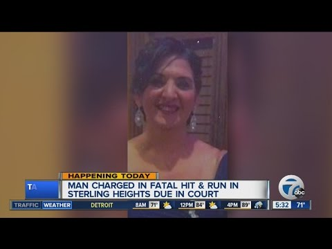 Suspect to be charged in Sterling Heights fatal hit & run