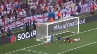 İngiltere 1 2 İzlanda Maç Özeti & Goller England island  2016
