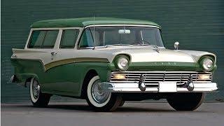 1957-1958 Ford Del Rio - Ford's 2-door Sport Wagon
