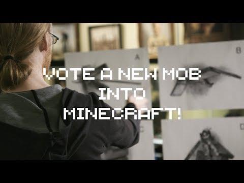 Vote a new Mob into Minecraft during MINECON Earth!