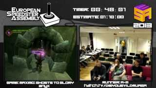 Maximo: Ghosts to Glory - Speed Run in 0:57:11 by A-M Live for European Speedster Assembly 2013