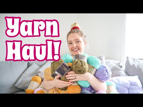 I WENT TO SPOTLIGHT AT MIDNIGHT! | Huge Yarn Haul