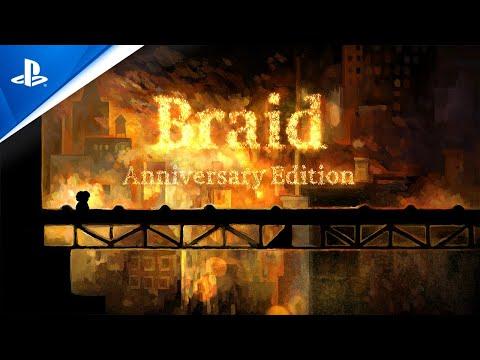 Braid, Anniversary Edition - Announcement Trailer | PS4
