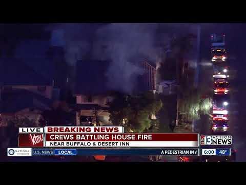 Family of six displaced by house fire near Buffalo, Desert Inn
